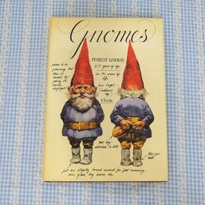 Signed Vintage Gnomes Hardcover Book 1977!